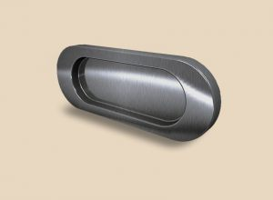 Ручка серебро глянец овальная Италия Минусинск