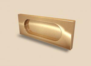 Ручка Золото глянец прямоугольная Италия Минусинск
