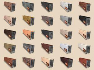 """Алюминиевый ламинированный профиль """"HOLZ"""" для шкафов купе и межкомнатных перегородок Более 100 цветов Минусинск"""