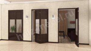 Двери гармошка Минусинск
