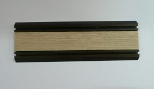 Направляющая нижняя для шкафа-купе вкладка шпон Минусинск