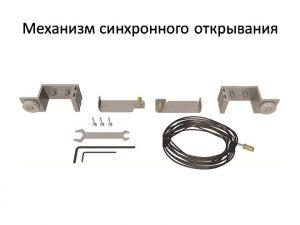 Механизм синхронного открывания для межкомнатной перегородки  Минусинск