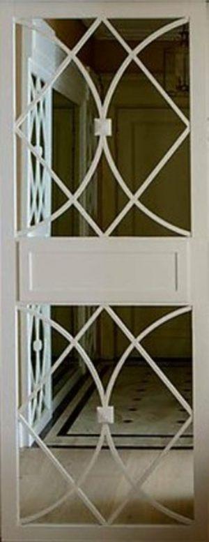 Вставка с фигурной филенкой на зеркале эмаль Минусинск