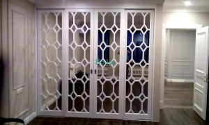 Двери с фигурной филенкой, эмаль Минусинск
